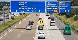 dálnice Německo