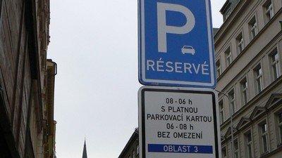 značka parkování