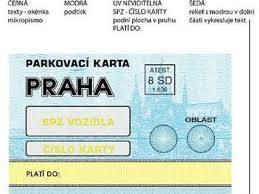 carte de stationnement